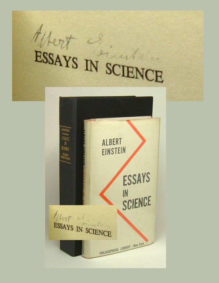 Eveline James Joyce Essay Essays In Science Signed Albert Einstein Black History Essays also Essay Best Teacher Essays In Science Signed  Albert Einstein  St Edition Thesis Statement In A Narrative Essay