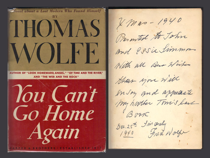 you cant go home again He saw that you can't go home again-not ever there was no road back (thomas wolfe) mama would expect me to shareso pin freely and listen to the hauntingly.
