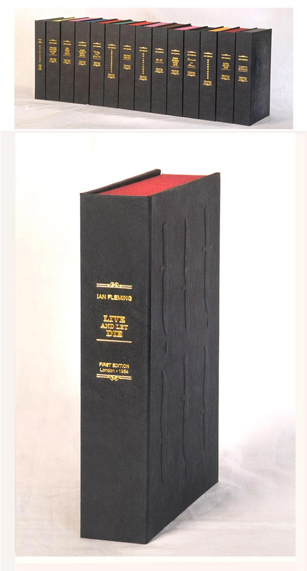 Live And Let Die Custom Clamshell Case Only Ian Fleming