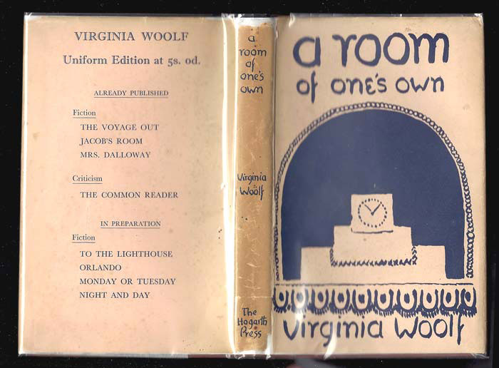 Cover of Virginia Woolf's A Room of One's Own