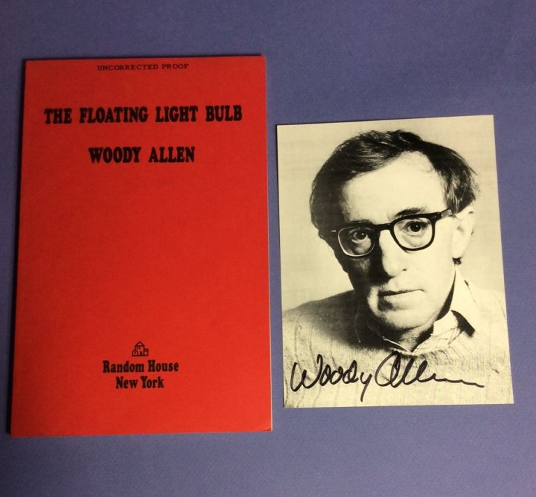 THE FLOATING LIGHTBULB. Signed. Woody Allen