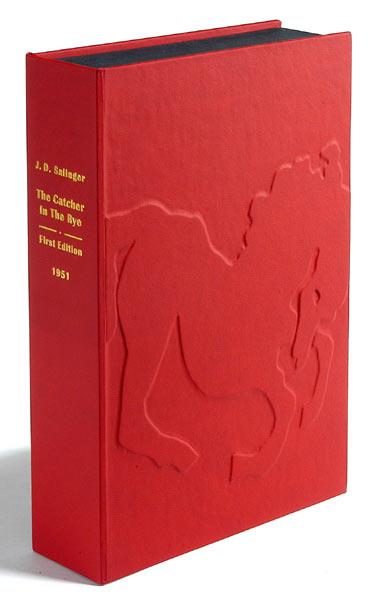 THE CATCHER IN THE RYE. Custom Collector's 'Sculpted' Clamshell Case. J. D. Salinger