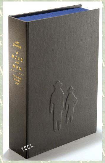 OF MICE AND MEN. Custom Collector's 'Sculpted' Clamshell Case. John Steinbeck.