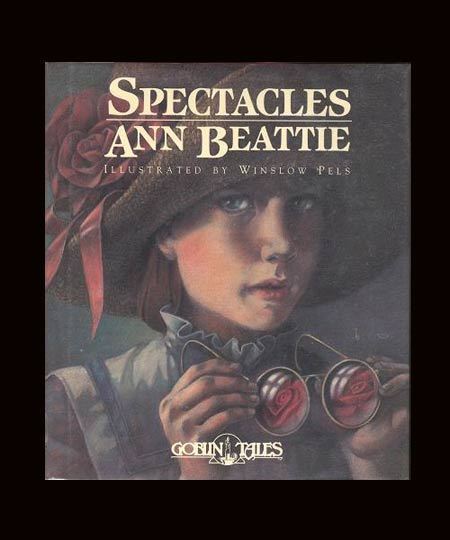 SPECTACLES. Signed. Ann Beattie.