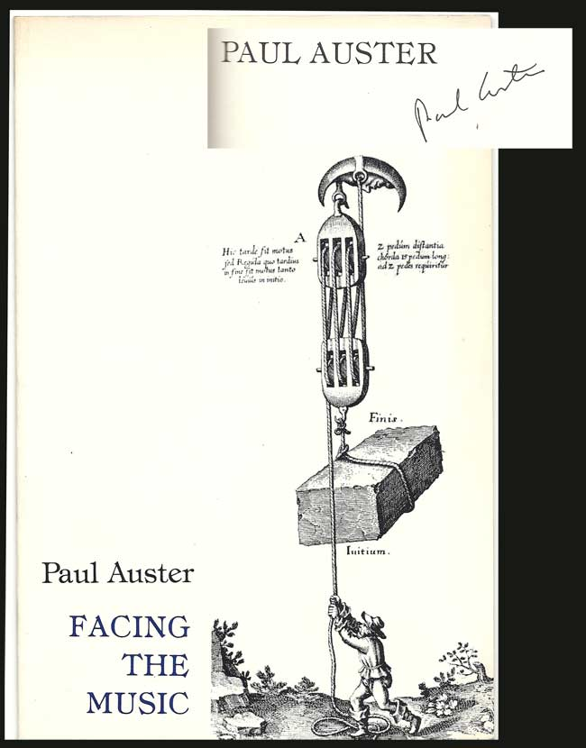 FACING THE MUSIC. Signed. Paul Auster