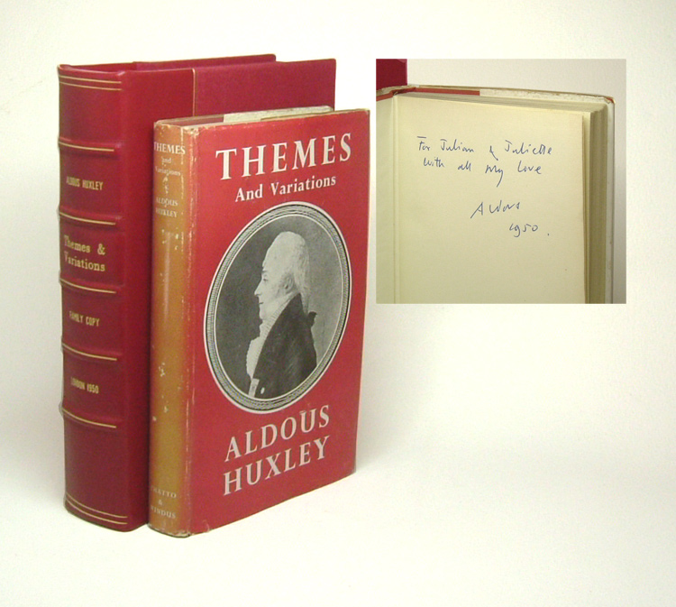 THEMES AND VARIATIONS. Family Copy. Aldous Huxley
