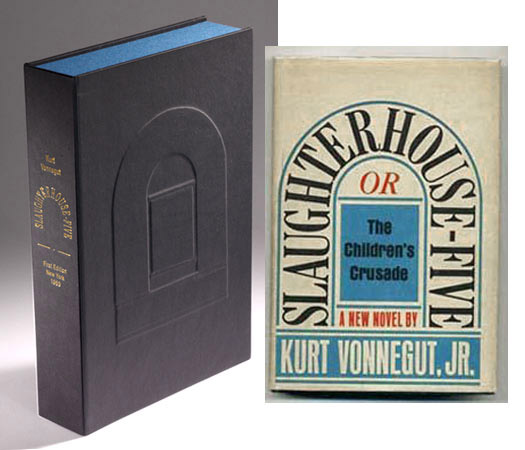 SLAUGHTERHOUSE-FIVE Custom Clamshell Case Only. Kurt Vonnegut