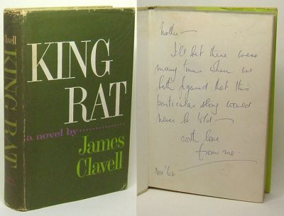 KING RAT. Dedication Copy. James Clavell.