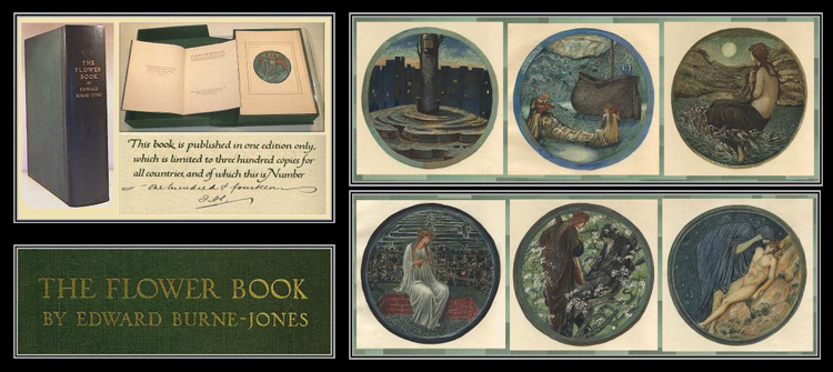 THE FLOWER BOOK Signed. Sir Edward Burne-Jones.