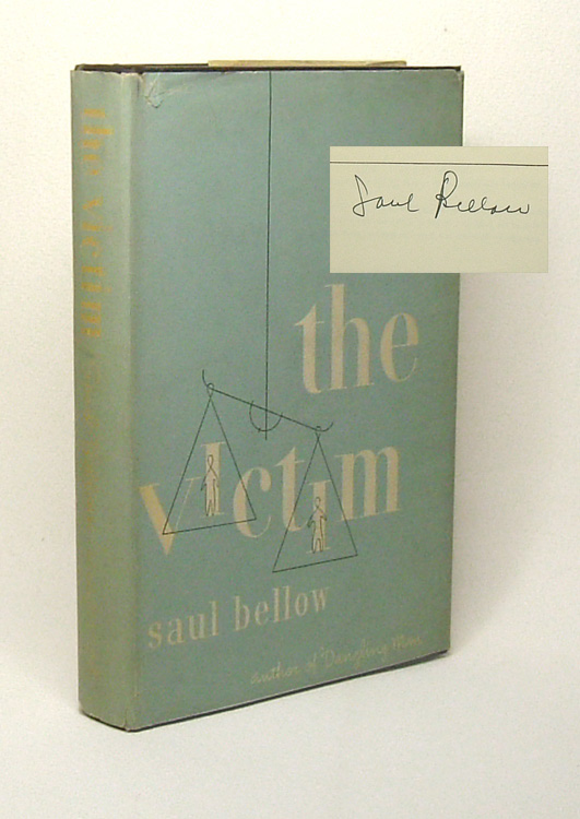 THE VICTIM. Signed. Saul Bellow.
