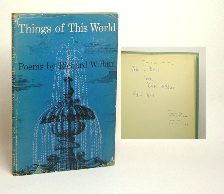 THINGS OF THIS WORLD. Signed. Richard Wilbur