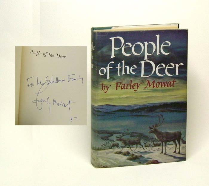 PEOPLE OF THE DEER. Farley Mowatt.