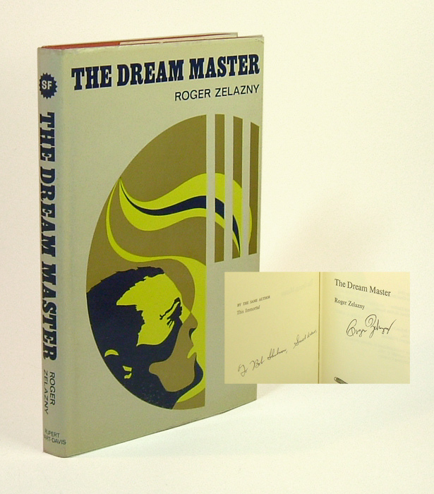 DREAM MASTER. Signed. Roger Zelazny.