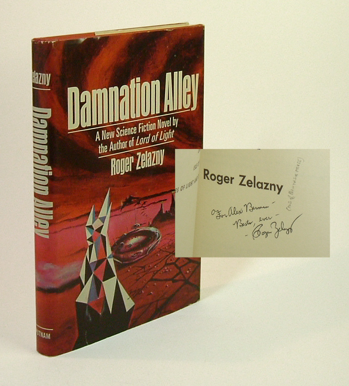 DAMNATION ALLEY. Signed. Roger Zelazny.