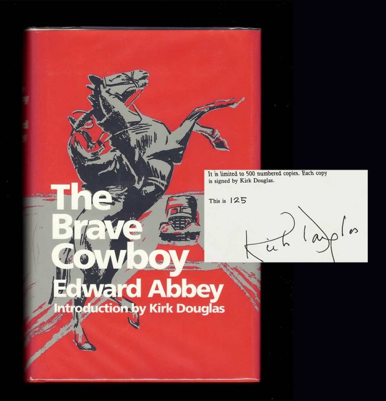 THE BRAVE COWBOY. Signed. Edward Abbey.