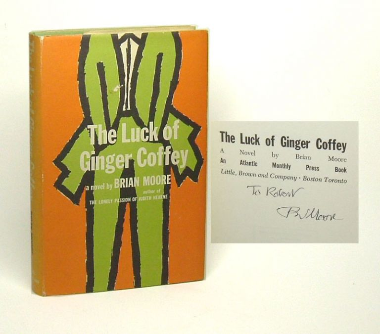 THE LUCK OF GINGER COFFEY. Signed. Brian Moore