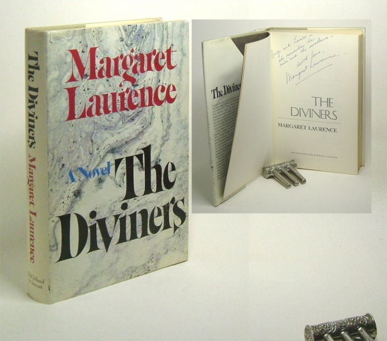 THE DIVINERS. Signed. Margaret Laurence