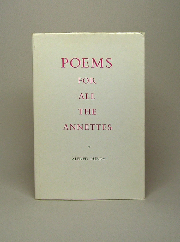 POEMS FOR ALL THE ANNETTES.
