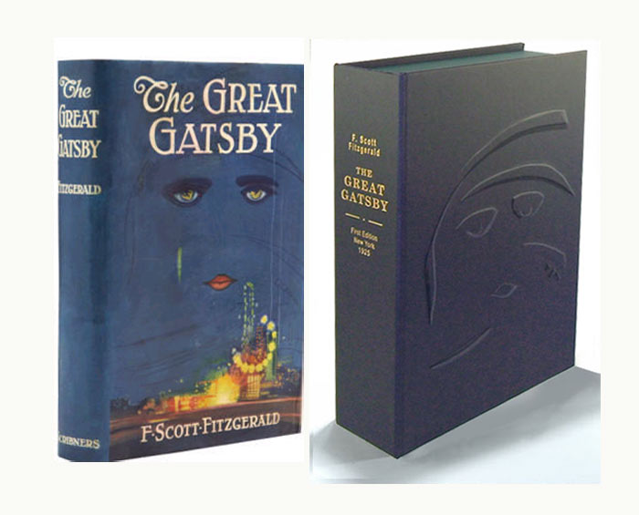 THE GREAT GATSBY. Custom Clamshell Case. Fitzgerald F. Scott.