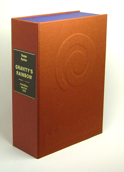 GRAVITY'S RAINBOW. Custom Collector's 'Sculpted' Clamshell Case Only. Thomas Pynchon