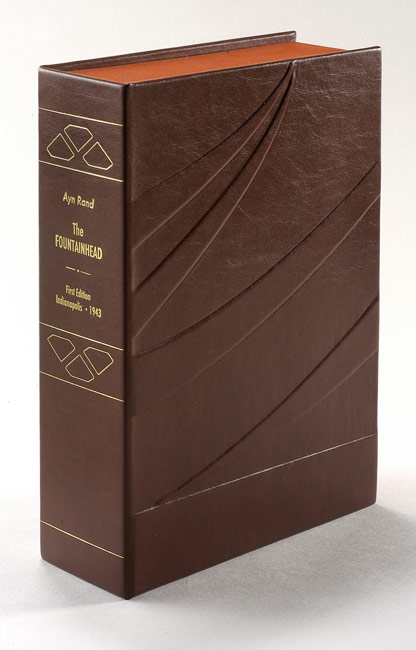 THE FOUNTAINHEAD. Custom Collector's 'Sculpted' Clamshell Case Only. Ayn Rand