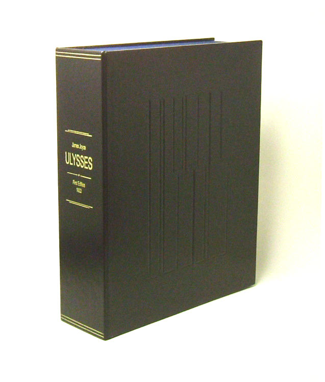 ULYSSES.Custom Collector's 'Sculpted' Clamshell Case Only. James Joyce