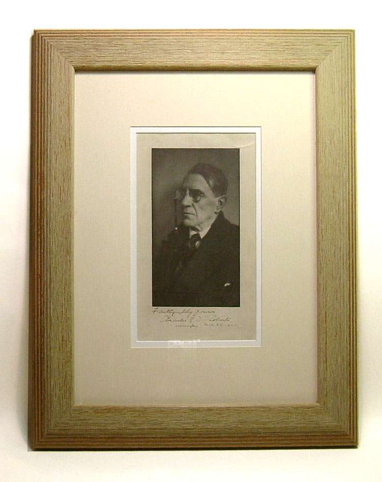 Original Signed Portrait Photograph. Sir Charles G. D. Roberts
