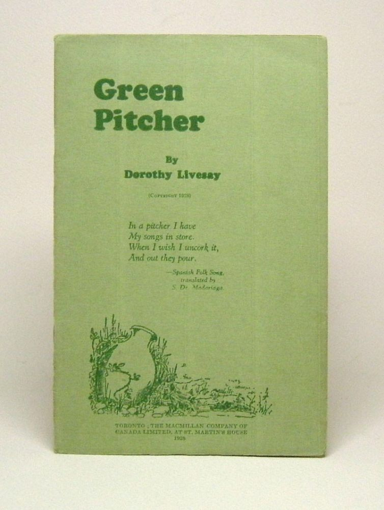 GREEN PITCHER.