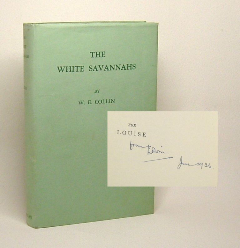THE WHITE SAVANNAHS. Signed. W. E. Collin.