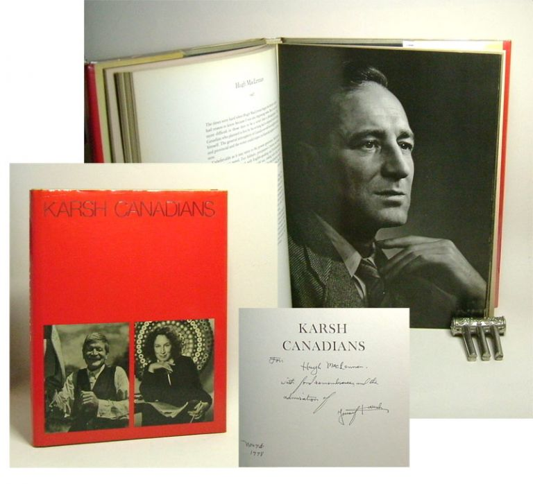 KARSH CANADIANS. Signed. Yousuf Karsh