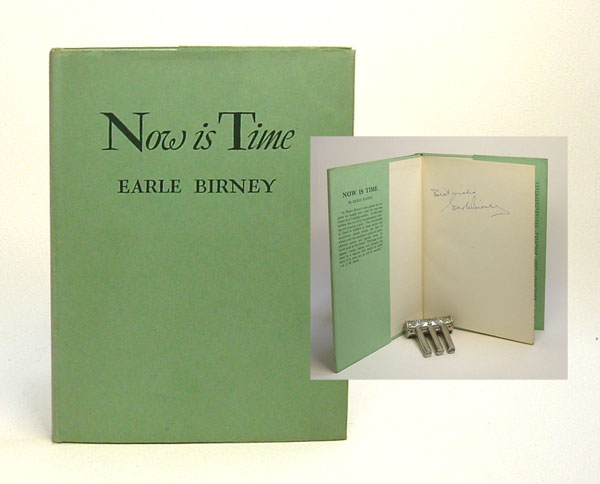 NOW IS TIME. Earl Birney.
