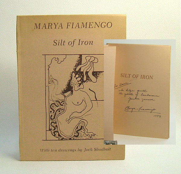 SILT OF IRON. Marya Fiamengo