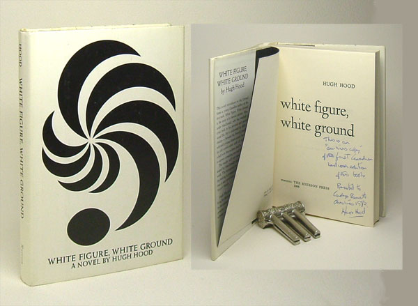 WHITE FIGURE, WHITE GROUND. Signed. Hugh Hood