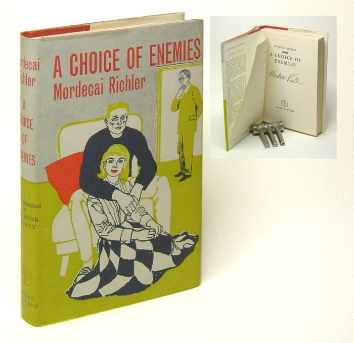 A CHOICE OF ENEMIES. Signed