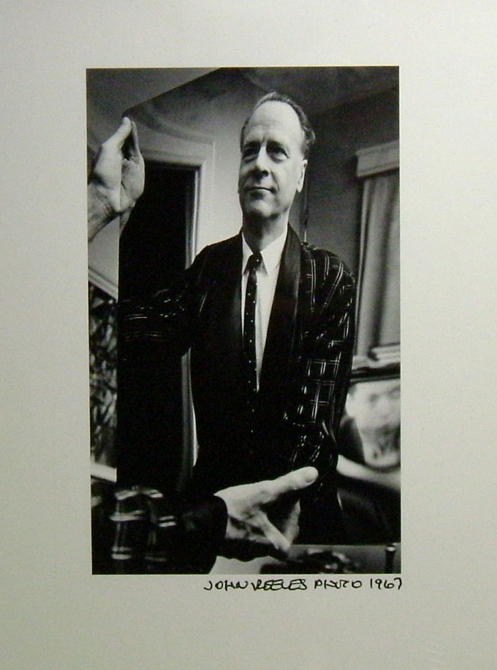 Original Photograph By John Reeves. Marshall McLuhan.