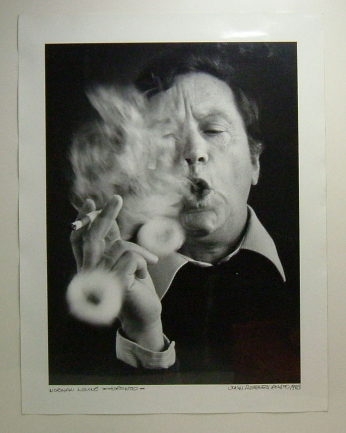 Original Photograph By John Reeves. Norman Levine.