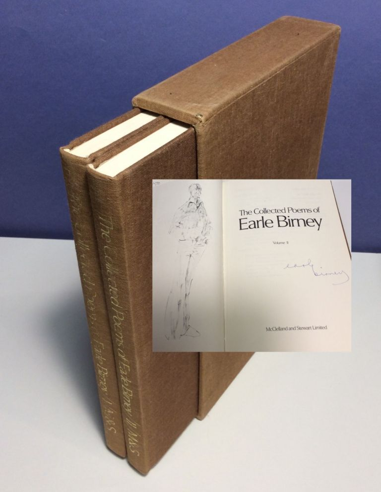 THE COLLECTED POEMS OF EARLE BIRNEY. Two Volumes. Signed. Earle Birney