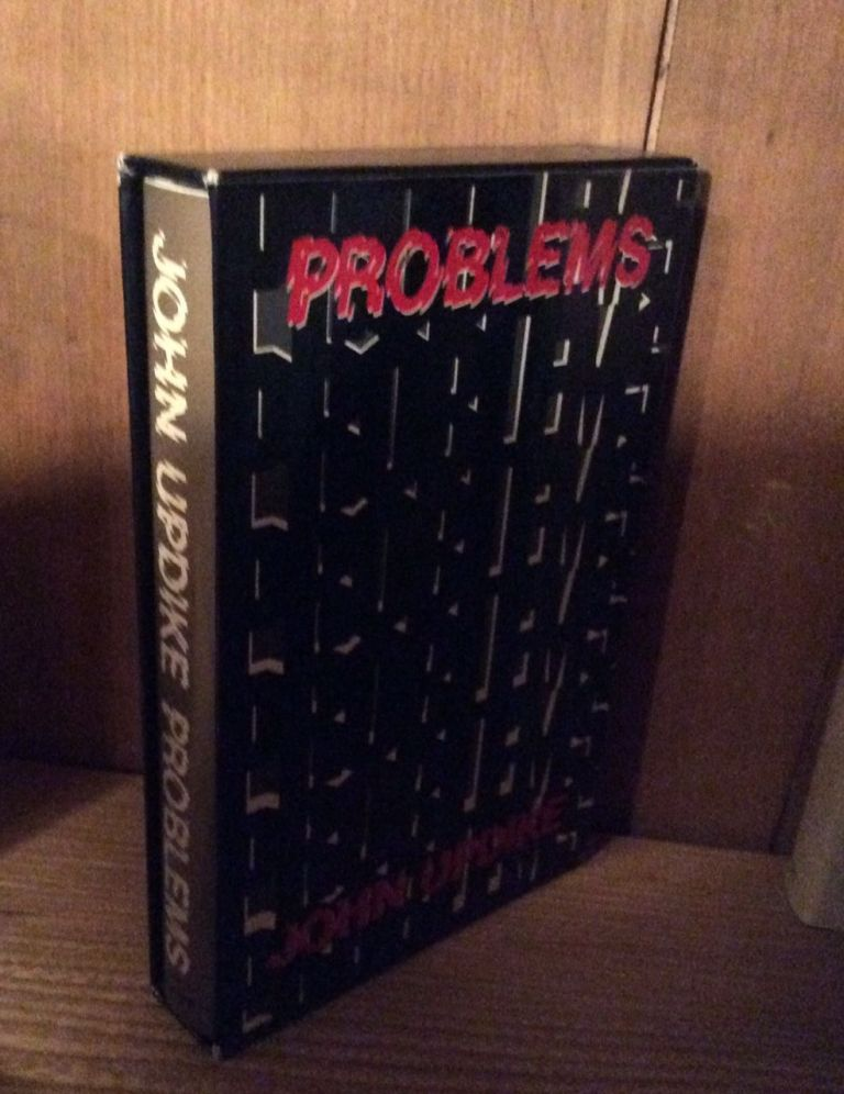 PROBLEMS AND OTHER STORIES. Signed. John Updike