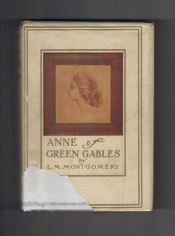 ANNE OF GREEN GABLES. MONTGOMERY, ucy, aud.