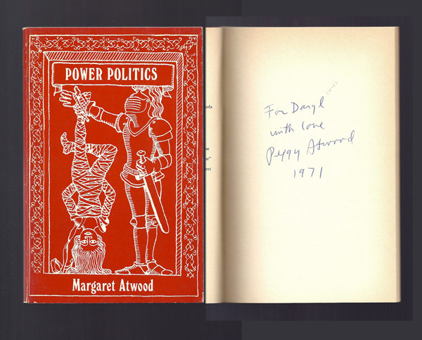 POWER POLITICS. Signed. Margaret Atwood.