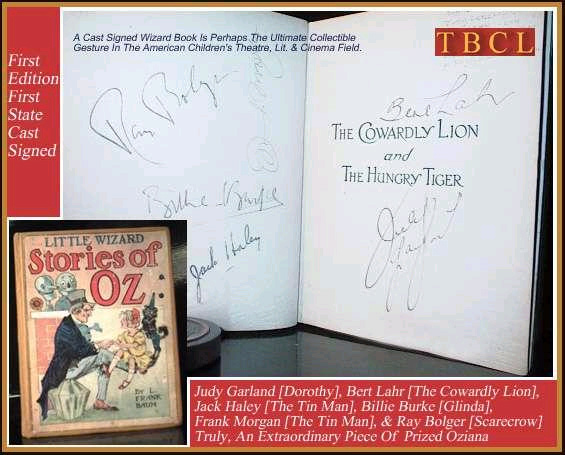 LITTLE WIZARD OF OZ. [Wizard Of Oz, SIGNED By Cast], L. Frank Baum.