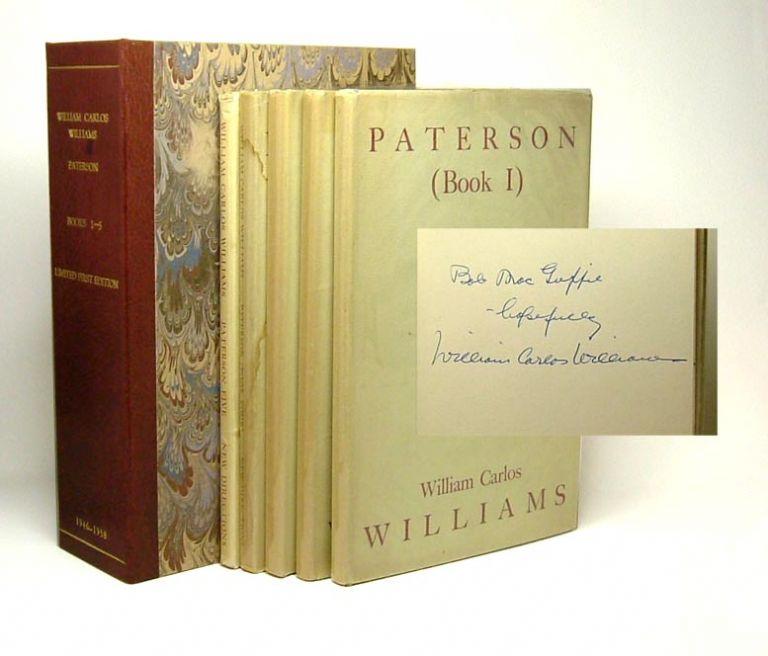 PATERSON. Inscribed. William Carlos Williams.