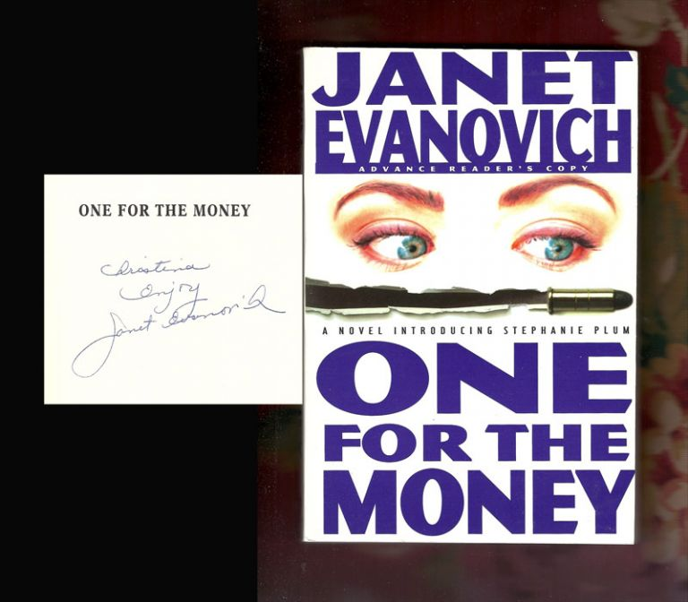 ONE FOR THE MONEY. Signed. Janet Evanovich