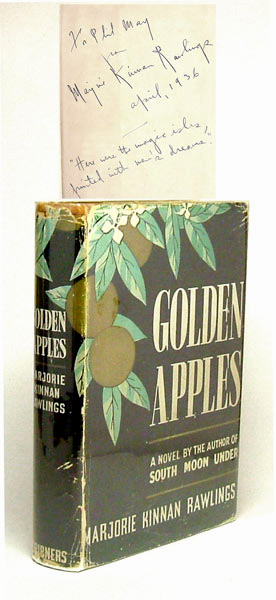 GOLDEN APPLES. Signed. Marjorie Kinnan Rawlings