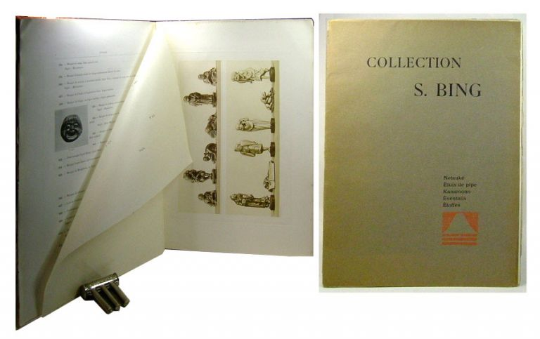 COLLECTION S. BING. [NETSUKE VOLUME} Objets d'art et peintures du Japon et de la Chine. Samuel Bing