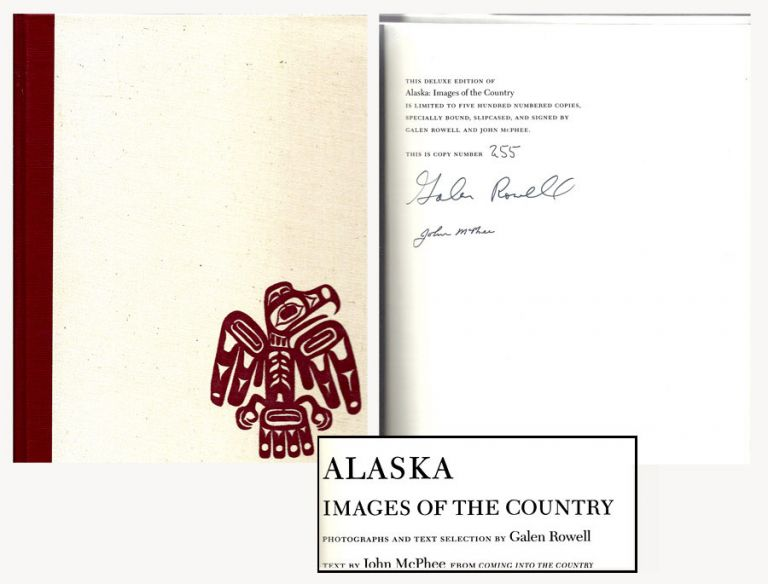 ALASKA. IMAGES OF THE COUNTRY. Signed. John McPhee