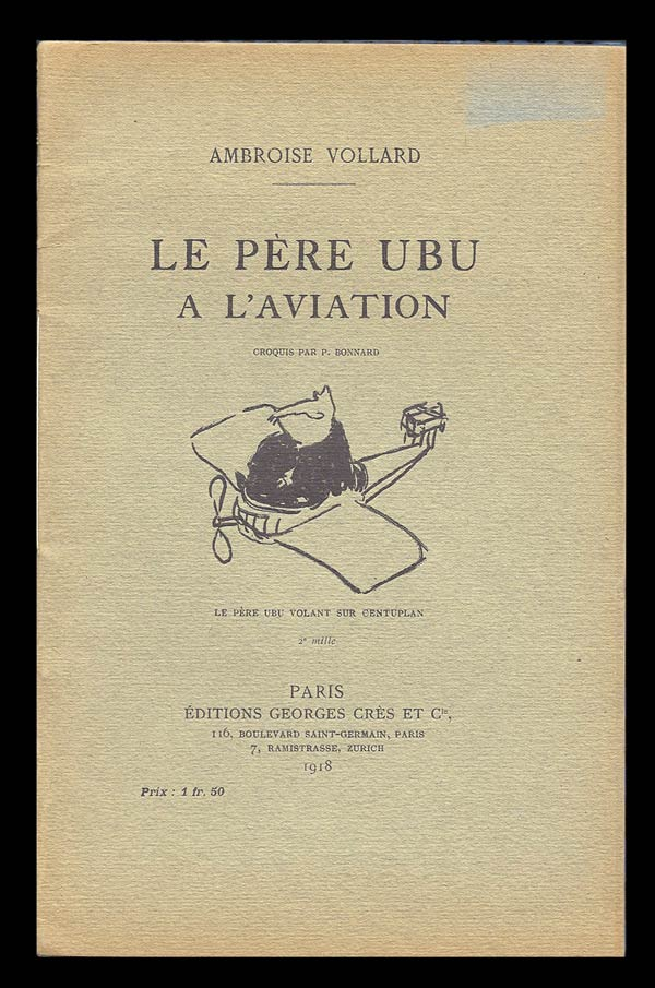 Le Père Ubu à l'Aviation. Ambroise Vollard