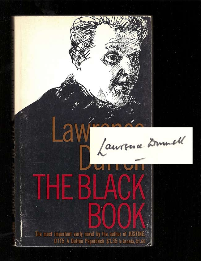 THE BLACK BOOK. Signed. Lawrence Durrell