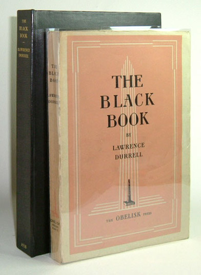 THE BLACK BOOK. Lawrence Durrell