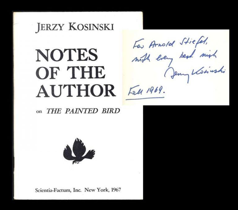 an analysis of the novel the painted bird by jerzy kosinski For years kosinski's first novel, the painted bird, was taken to be  this examination focuses on kosinski's concept of the self, dividing the self into two parts:.